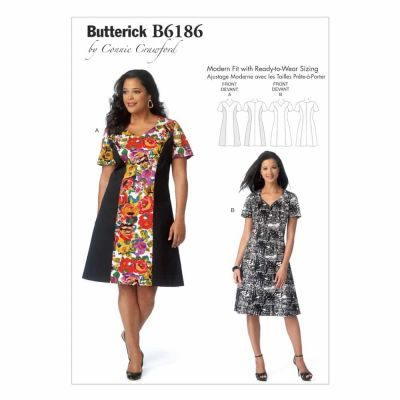 Butterick Sewing Pattern B6186 Misses'/Women's Dress