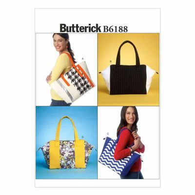 Butterick Sewing Pattern B6188 Bags