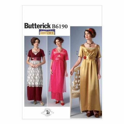 Butterick Sewing Pattern B6190 Misses' Costume