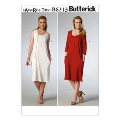 Butterick Sewing Pattern B6213 Misses' Jumper and Dress