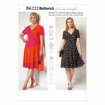 Butterick Sewing Pattern B6222 Misses'/Women's Dress