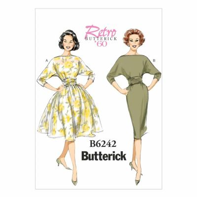 Butterick Sewing Pattern B6242 Misses' Dress