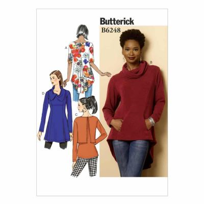 Butterick Sewing Pattern B6248 Misses' Tunic