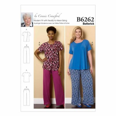 Butterick Sewing Pattern B6262 Misses'/Women's Loungewear