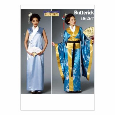 Butterick Sewing Pattern B6267 Misses' Costume