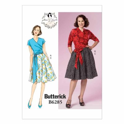 Butterick Sewing Pattern B6285 Misses' Top and Skirt