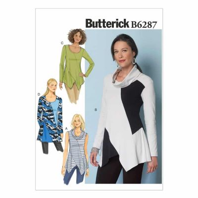 Butterick Sewing Pattern B6287 Misses' Tunic