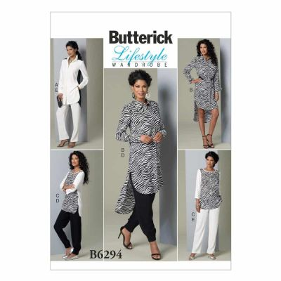 Butterick Sewing Pattern B6294 Misses' Tunic and Pants