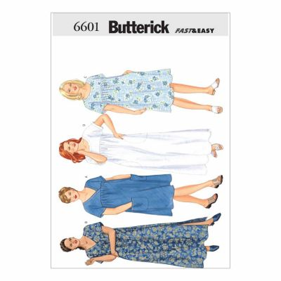 Butterick Sewing Pattern B6601 Women's/Women's Petite Dress