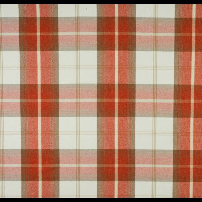 Porter & Stone - Balmoral - Burnt Orange - Curtain Fabric