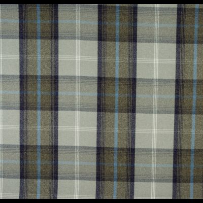 Porter & Stone - Balmoral - Oxford Blue - Curtain Fabric