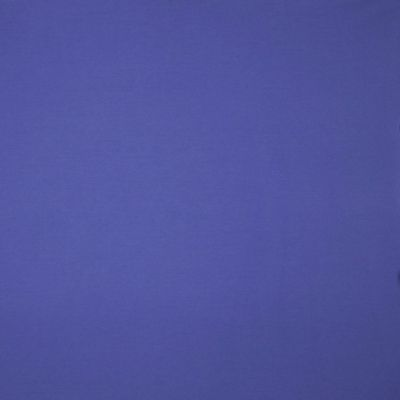 Solid Colour Organic Bamboo Jersey Fabric - Cobalt