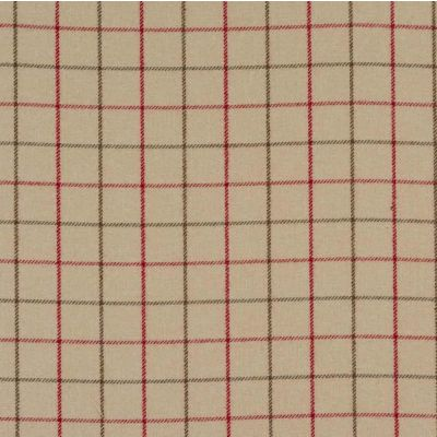 Porter & Stone - Bamburgh - Cranberry - Curtain Fabric