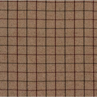 Porter & Stone - Bamburgh - Mulberry - Curtain Fabric