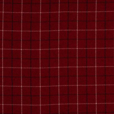 Porter & Stone - Bamburgh - Rosso - Curtain Fabric
