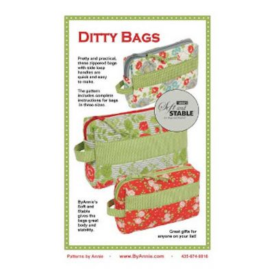 ByAnnie Sewing Pattern -  Ditty Bags Pattern