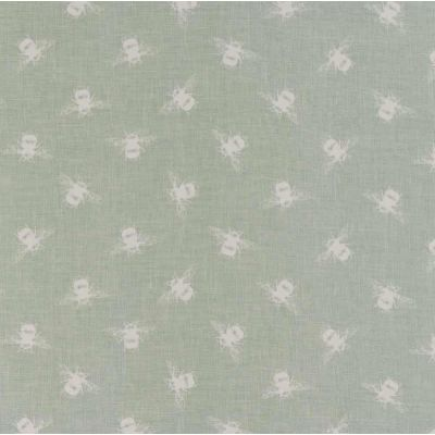 Bees - Duck Egg - Curtain Fabric
