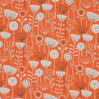 Bergen - Burnt Orange - Curtain Fabric