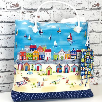 Makower - Beside The Sea - Beach Bag & Pouch Kit