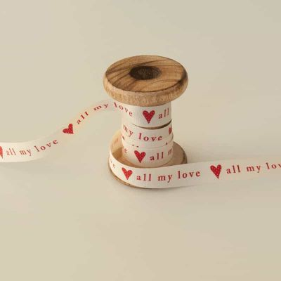 15mm All My Love Ribbon