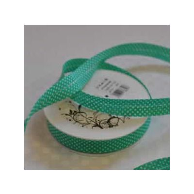 20mm Bias Binding Dots On Green
