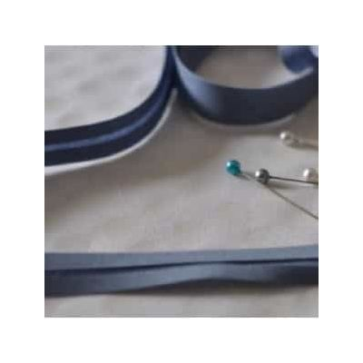 25mm Bias Binding China Blue