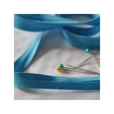 25mm Bias Binding Aqua