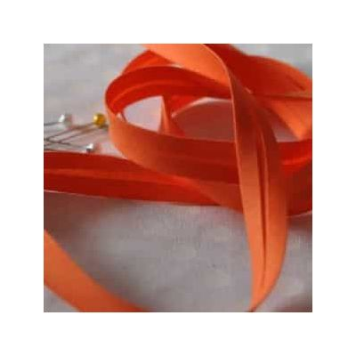 25mm Bias Binding Orange