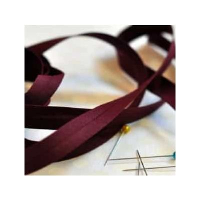25mm Bias Binding Wine
