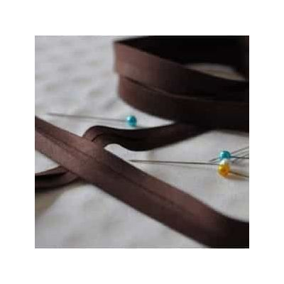 25mm Bias Binding Chocolate