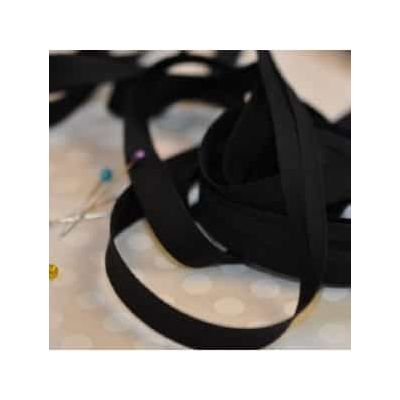 25mm Bias Binding Black