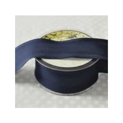 50mm Bias Binding Navy