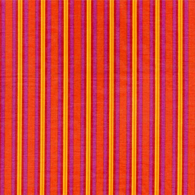 Printed Silk Blend - Sunburst Stripe