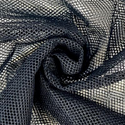 Black Mesh Fabric - Strong Light Weight Mesh For Bags And Crafts