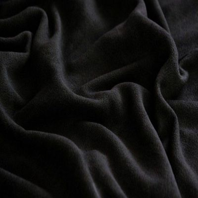 Best Quality Black Premium Microfleece