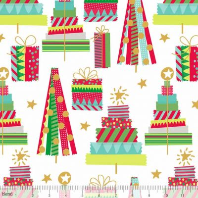 Blend All Is Bright Holiday Washi White Cut Length