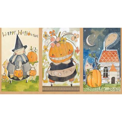 Blend - Spooky Town - Happy Halloweeny 60cm Panel
