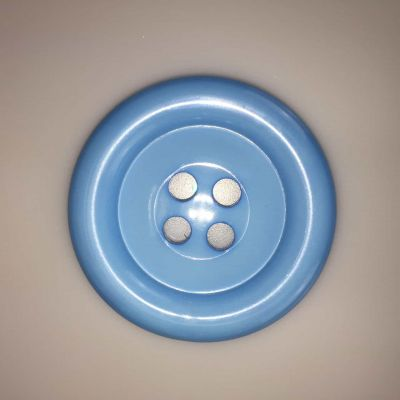 Blue Extra Large Clown Buttons Size 100 - 63mm