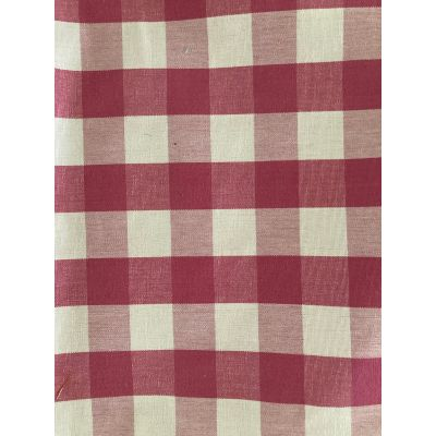 Remnant - Fryetts Cotton Curtain Fabric - Breeze - Sorbet - 2m x 145cm