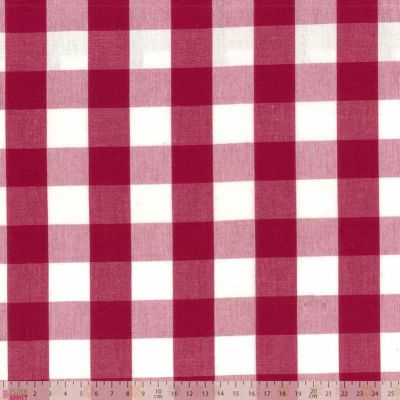 Laminated Cotton - Breeze - Rouge
