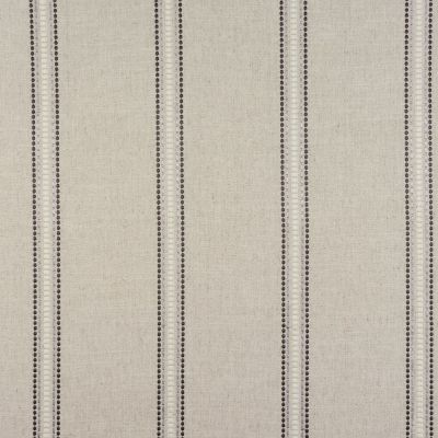Porter & Stone - Bromley Stripe - Charcoal - Curtain Fabric