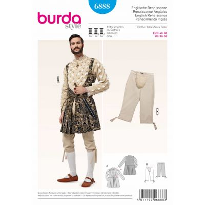 Burda Sewing Pattern - 6888