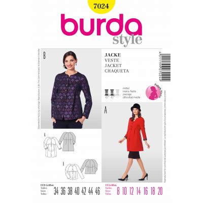 Burda Sewing Pattern - 7024