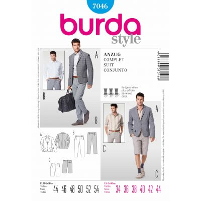 Burda Sewing Pattern - 7046