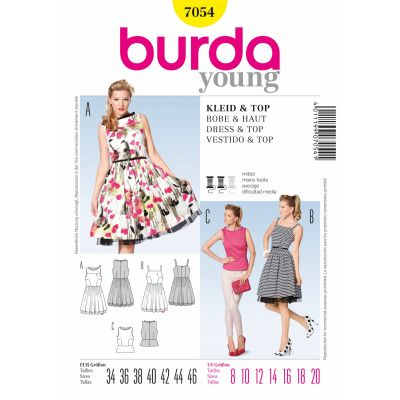 Burda Sewing Pattern - 7054