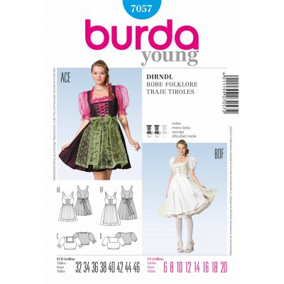 Burda Sewing Pattern - 7057