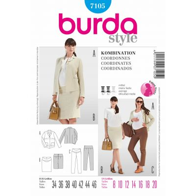 Burda Sewing Pattern - 7105