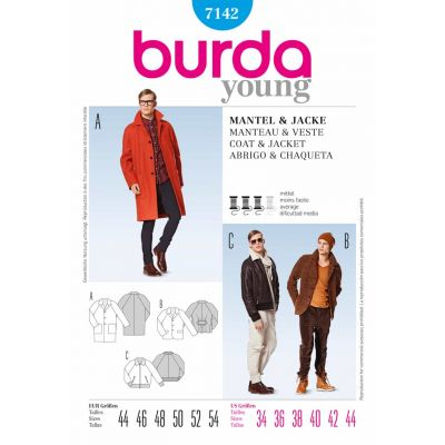 Burda Sewing Pattern - 7142