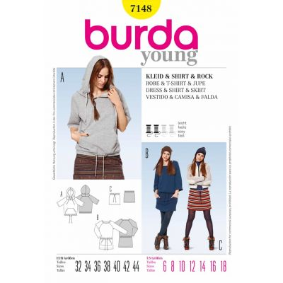 Burda Sewing Pattern - 7148