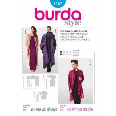 Burda Sewing Pattern - 7167